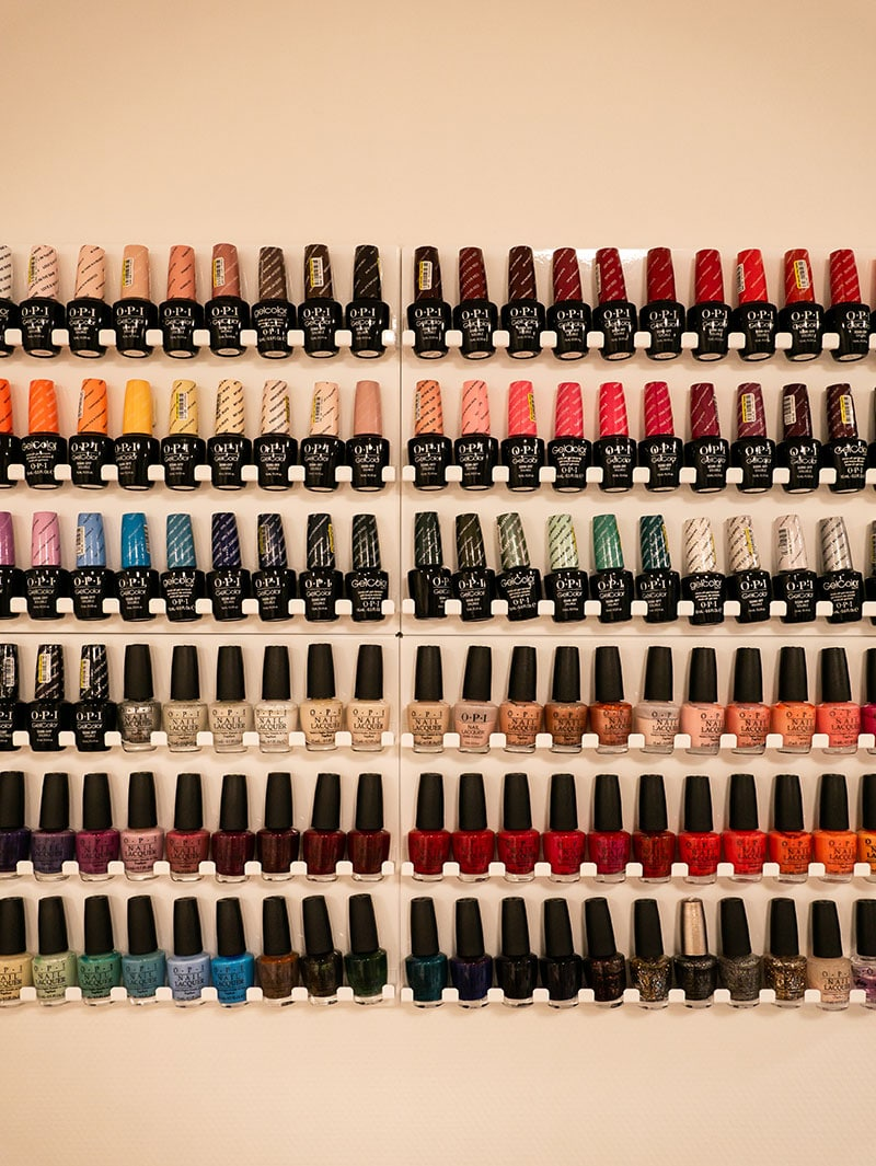 Impressions from the Chic Nails & Beauty shop.